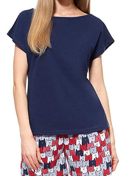 Pijama Conjunto Camiseta y Pantalones Mujer verano